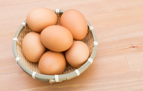 jaja kurze - chow klatkowy
